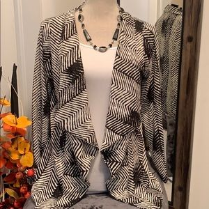 Sweaters - Draped Cardigan-Large